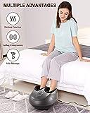 MARNUR Fußmassagegerät mit Wärmefunktion in der Anwendung