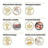 Beurer FM 60 Fußmassagegerät mit 18 Massageköpfen, Wärmefunktion, 2 Geschwindigkeiten - 5